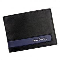 """Juoda odinė """"PIERRE CARDIN"""" piniginė su RFID dėklu"""