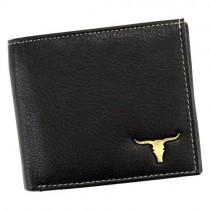 """Vyriška juoda """"BUFFALO WILD"""" piniginė su RFID apsauga"""
