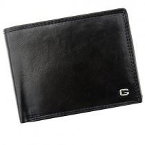 """Vyriška juoda odinė """"GREGORIO"""" piniginė su RFID dėklu"""