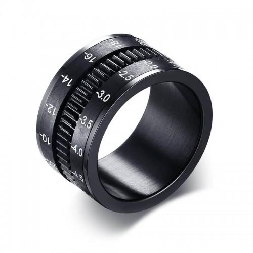 Vyriškas žiedas su suktuko funkcija