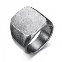 Vyriškas nerūdijančio juvelyrinio plieno vintažinio stiliaus žiedas