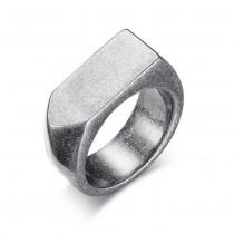 Vintažinio stiliaus vyriškas žiedas iš nerūdijančio juvelyrinio plieno